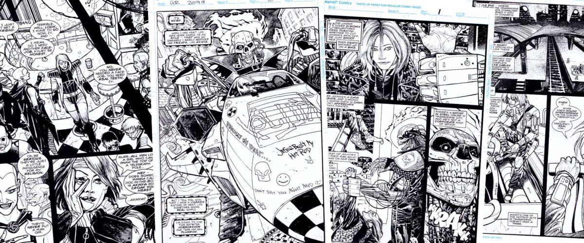 Ghost Rider Horrorshow with Warren Ellis.